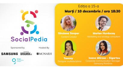 SocialPedia 15:Despre conținut de calitate pe Instagram cu Sînziana Sooper, Marian Hurducaș, Tammy Lovin și Ioana Mârzac - Sigarteu