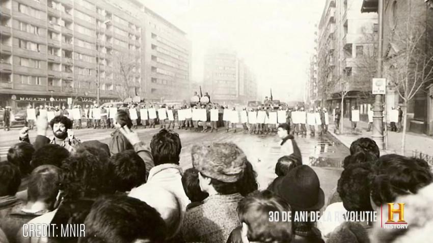 Mini-serial documentar produs de televiziunea HISTORY pentru a marca 30 de ani de la Revoluția din 1989