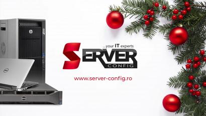 Server Config - 10 ani de activitate, celebrați cu un spot publicitar de sezon