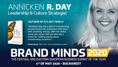Come and see leadership & culture strategist Annicken R. Day at BRAND MINDS 2020!