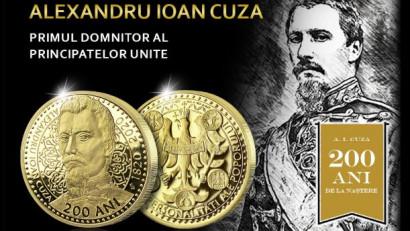 Casa de Monede lansează o medalie comemorativă dedicată lui Alexandru Ioan Cuza și anunță parteneriatul cu Proud To Be Romanian