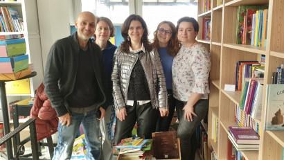 Cărți dăruite de copii au ajuns la Casa Bună a lui Valeriu Nicolae