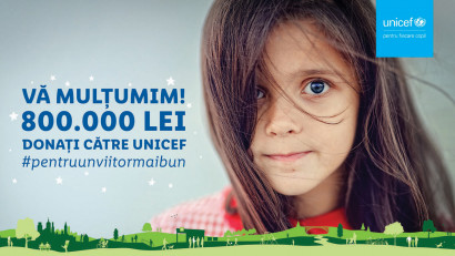 Împreună cu clienții săi, Lidl contribuie la reducerea riscului de abandon școlar și investește 800.000 lei în programul derulat de UNICEF