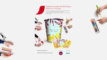 Competitia de design NESCAFE Alegria, cafeaua ta cu bun gust / TheCreator by IQads