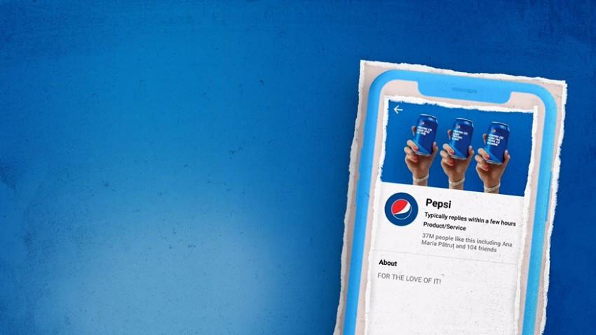 Chatbotul Pepsi cu recunoastere vizuala. O solutie digitala noua care pune consumatorul pe primul loc