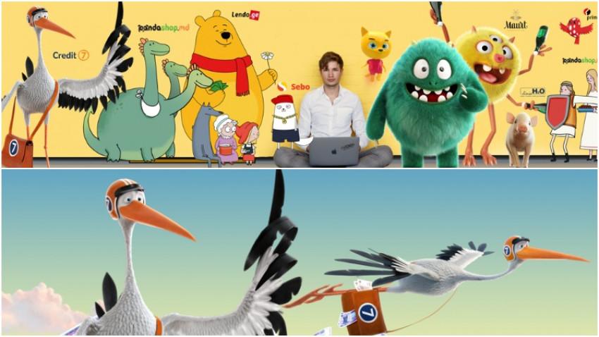 [Producția Moldovei] Denis Simonov (Pixtoon): Creativitatea nu vinde mereu
