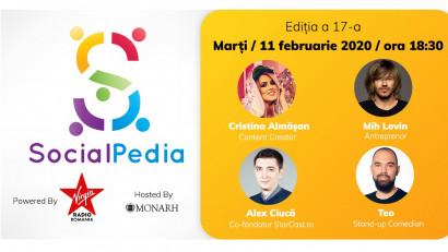 SocialPedia 17:Despre New Social Media – Podcast și TikTok, cu Cristina Almășan, Mih Lovin, Alex Ciucă și Teo de la Între Showuri Podcast