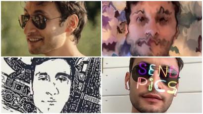 Desenatul cu nasul in Instagram sau filtrele de AR a lui David Pripas