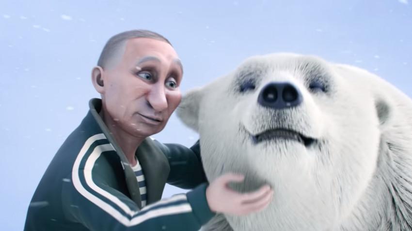 Putin așa cum nu l-ați mai văzut