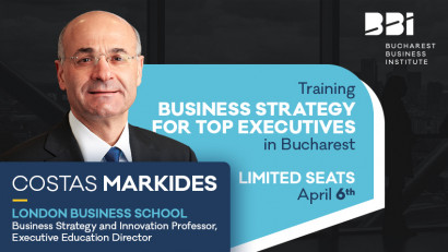Directorul Departamentului de EXECUTIVE EDUCATION de la LONDON BUSINESS SCHOOL vine la BUCURESTI