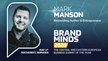 MARK MANSON is joining BRAND MINDS 2020!