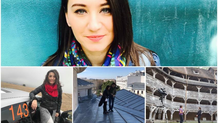 Claudia Spătărescu, #creativ și o întrebare: Eu de ce nu-i văd pe acești oameni la televizor? De ce văd personaje faimoase pentru că sunt faimoase?