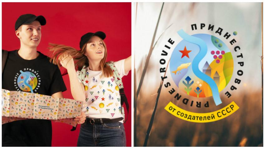 Logo turistic controversat pentru regiunea transnistreană