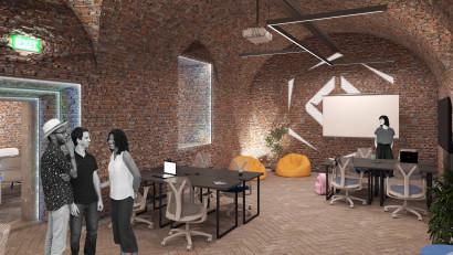 Workspace Studio susține programul educațional Digital Nation cu mobilier ergonomic pentru hub-urile de tehnologie din Piatra Neamț, Oradea și Alba Iulia