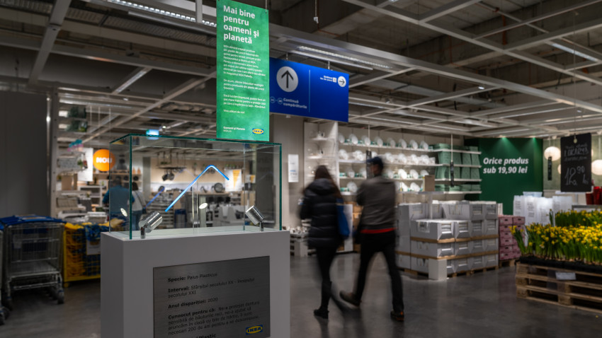 IKEA România a eliminat din ofertă produsele din plastic de unică folosință