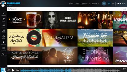 Blue Island Music lansează noul său music search