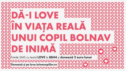 În luna iubirii, Inima Copiilor și Marks mulțumesc pentru LOVE