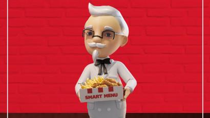 S-a deschis Smarket,singurul restaurant KFC în VR, exclusiv pentru Smart Menu