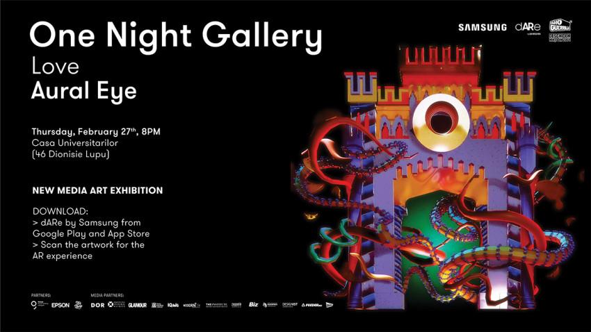 ONE NIGHT GALLERY #13 // Love Aural Eye