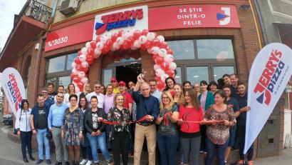 Jerry's Pizza și-a extins lanțul de magazine și a investit peste 600.000 de euro în patru noi unități