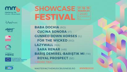 Artiști din România, Italia, Israel, Maroc, Croația, Turcia și Suedia - printre primele confirmări la MMB Showcase Festival