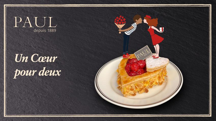 PAUL celebrează luna iubirii prin lansarea unei noi colecții de prăjituri, în ediție limitată