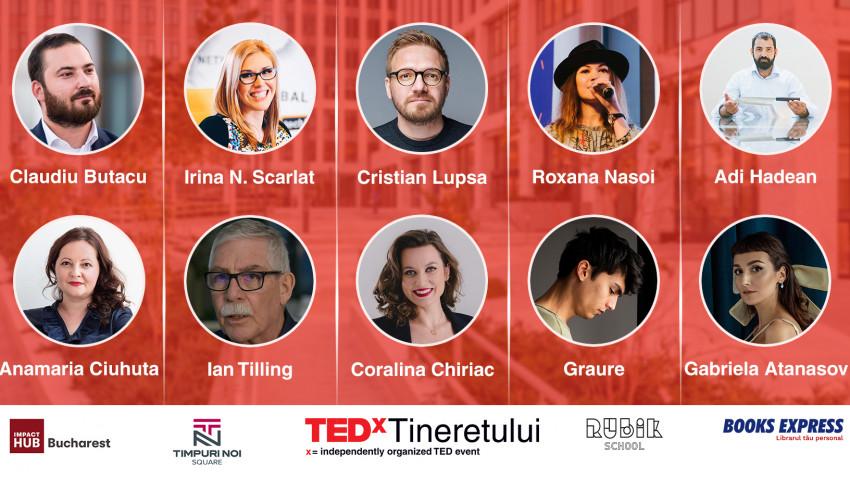 TEDx Tineretului prezintă 10 idei care schimbă viitorul