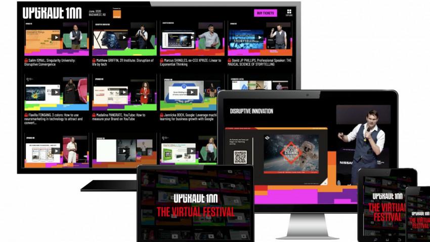Festivalul UPGRADE 100, fostul iCEE.fest, se amână în 1-2 octombrie și lansează o versiune online, cu acces gratuit