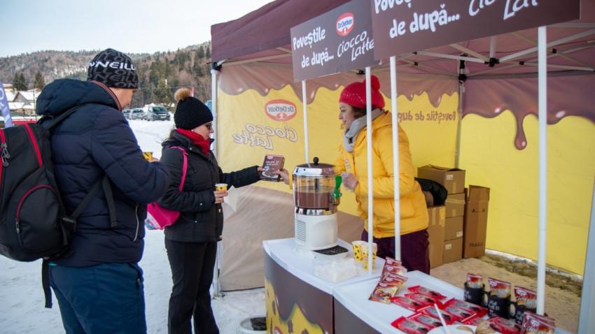 #PovestiCuCioccoLatte după schi, o activare de brand Dr. Oetker, dezvoltată de Mercury360
