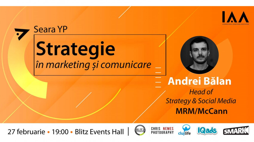 Andrei Bălan: Strategia e racordarea creativă, dar totodată calculată și sistematică a mijloacelor disponibile la obiectivele de marketing