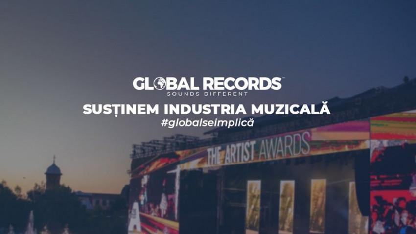 Global Records este alături de artiștii și instrumentiștii cu care lucrează și alocă un buget de 100.000 de euro pentru depășirea acestei perioade dificile