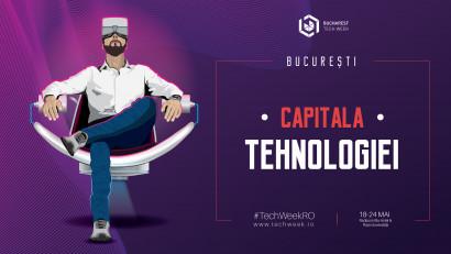 Zeci de mii de participanți sunt așteptați laBucharest Tech Week, festivalul care transformăBucureștiul în capitala tehnologiei