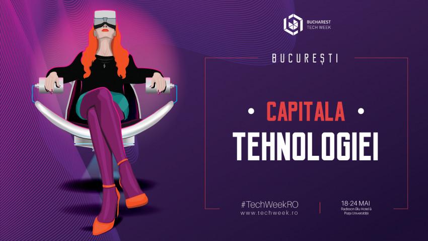 Continuă pregătirile pentru cea de-a cincea ediție Bucharest Tech Week