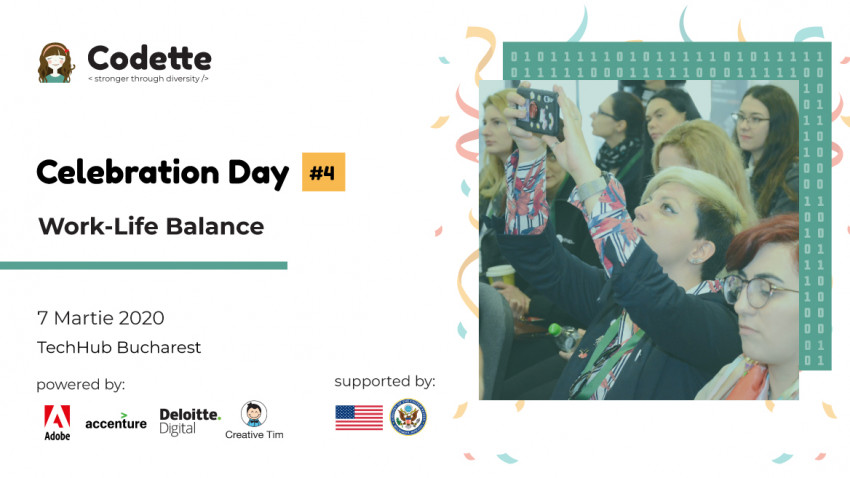 Celebration Day - O zi despre work-life balance și celebrare #womenintech