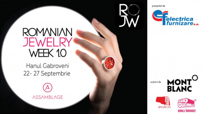 Assamblage anunță prima ediție ROMANIAN JEWELRY WEEK, 22-27 septembrie 2020