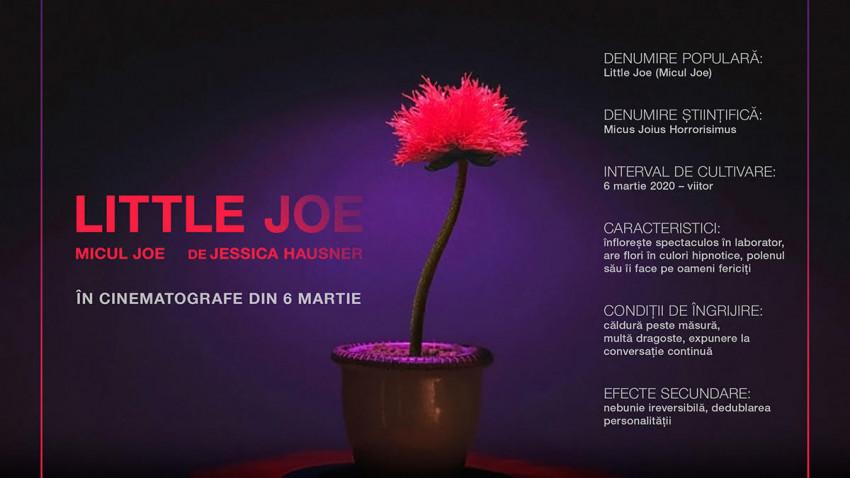 Câștigă floarea-recuzită din filmul Little Joe premiat la Cannes din 6 martie în cinematografe