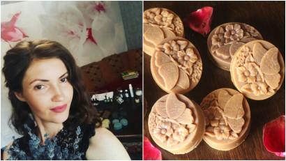 [Made in Moldova] Elena Mitiliuc, afacere dintr-un hobby: Merg împreună cu familia la strâns plante, pe care le transform în produse cosmetice