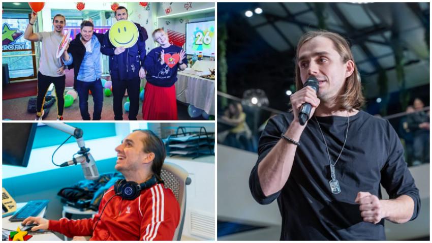 [Radio Love] Sebastian Coțofană: Trebuie sa fii sincer cu tine, sa corectezi, sa ramai aproape de omul de rand. E periculos sa traiesti intr-o bula