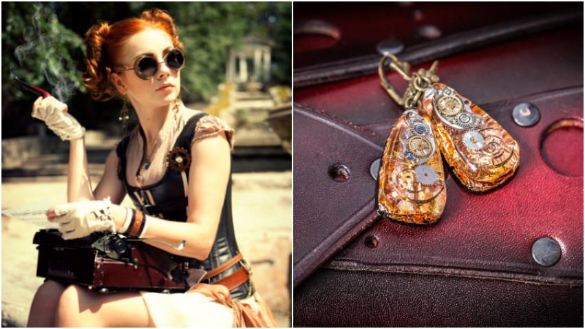 [Made in Moldova] Anna Butuc, contabila care creează bijuterii steampunk