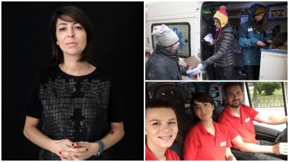 Alina Dumitriu, Sens pozitiv: Bolnavilor le era refuzată internarea sau tratamentul HIV, așa că făceam presiuni pentru a le fi respectate drepturile