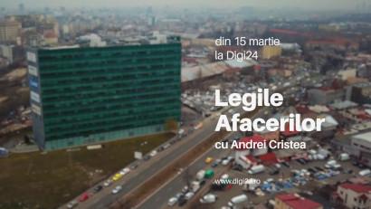 """Producție nouă la Digi24: """"Legile afacerilor"""", o emisiune despre arta apărării în România"""