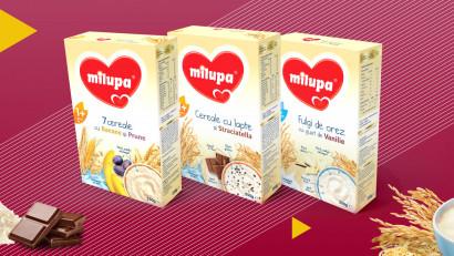 Milupa - Cereals Range Redesign