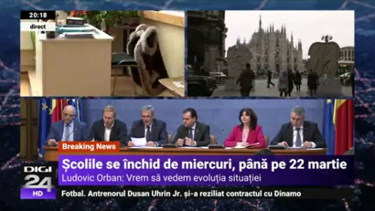 Epidemia COVID-19: Digi24 și digi24.ro, principalele surse de informare ale românilor