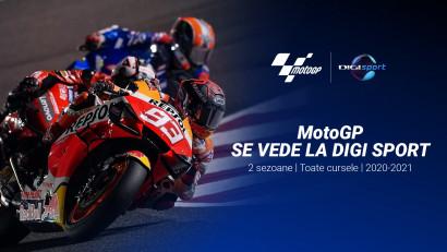 MotoGP se vede în următoarele două sezoane la Digi Sport