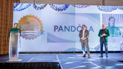 Pandora, premiată la Gala Superbrands pentru activitatea din 2019