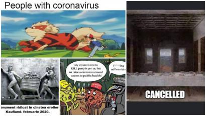 Cu pandemia nu e de glumit. Si totusi