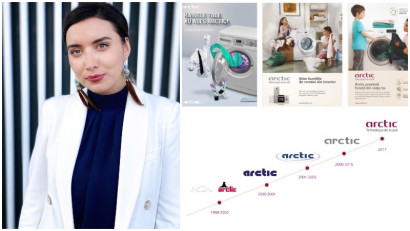 [Istorii de brand] Alexandra Pascu, Arctic: Update-urile de logo au reflectat momente-cheie declanșate de schimbările segmentelor-țintă