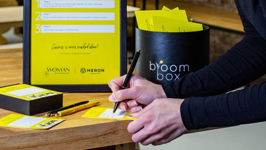 MERON și The Woman lansează activarea Bloom Box, dedicată doamnelor și domnișoarelor
