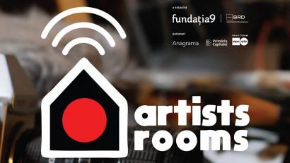 Peste 500 de aplicaţii primite de Fundaţia9 şi BRD Groupe Societe Generale în programul Artists Rooms, dedicat artiștilor independenți