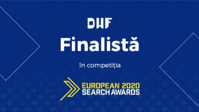 DWF a fost nominalizată pentru 3 premii European Search Awards